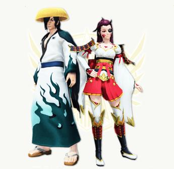 Last Samurai and Yumiko Renders