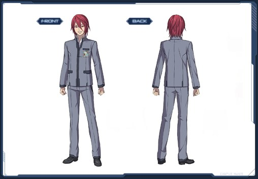 Tensei Academy Uniform M Style