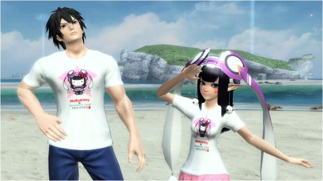 ハローキティTシャツM[Ba] Hello Kitty T-Shirt M [Ba] ハローキティTシャツF[Ba] Hello Kitty T-Shirt F [Ba]