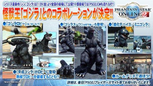 Godzilla Collab