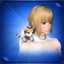 肩乗りミケネコShoulder Calico Cat