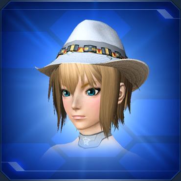 ベルト付き麦わら帽子 白 White Belted Straw Hat