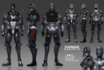 Space Investigation Assault Team Suit