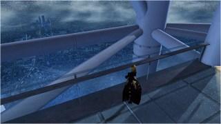 Phaleg Atop an ESC-A Tower