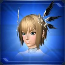翼の髪飾り Wing Hair Ornaments