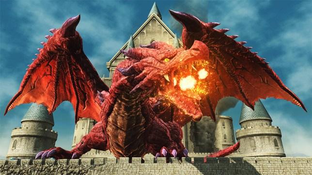 Erythron Dragon A