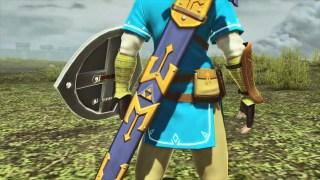 Link's Master Sword in PSO2