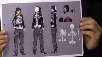 Skeleton Parker Concept Art