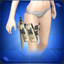 レッグアーミーベルト茶 Brown Leg Army Belt