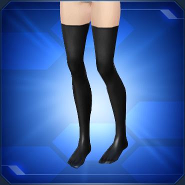 エナメルソックス 黒 Black Enamel Socks