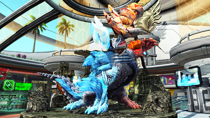 Elzelion From Monster Hunter Is Appearing in PSO2! | PSUBlog