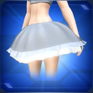 ふんわりスカート 白 Fluffy Skirt White