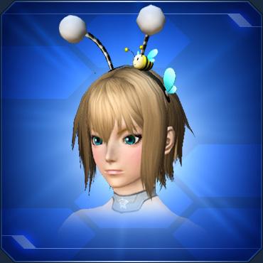 みつばちカチューシャ Honeybee Headband