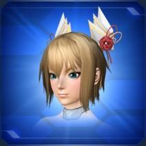 椿輪春明髪飾りBudding Hair Ornament