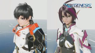 PSO2 New Genesis Character Creation