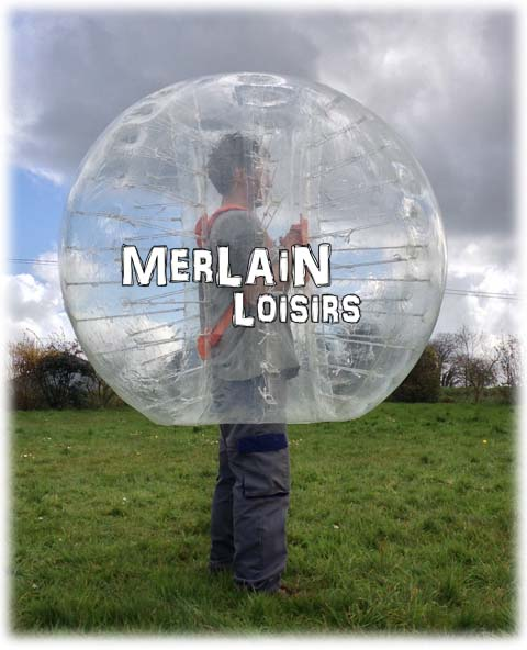 Bumper ball - Bubble Merlain