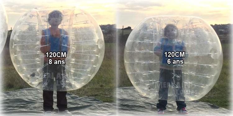 bumperballs Bubbles balles Taille 120CM