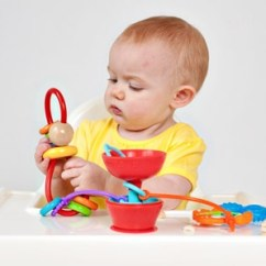 High Chair Suction Toys Slip Cover Dining Pipsquigz 3pk Grapple Toy Tether Cup Strap