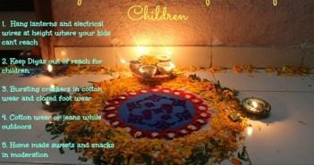 6 ways to ensure a safe diwali for children