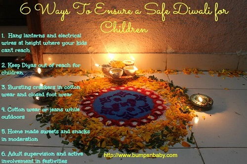 6 ways to ensure a safe diwali for children