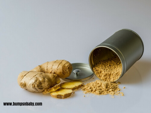 home made dry fruit powder mix dry ginger