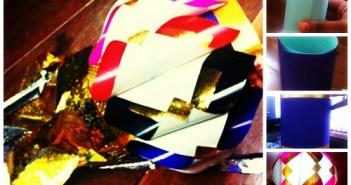 diwali paper lanterns