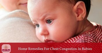 home remedies for chest congestion in babies