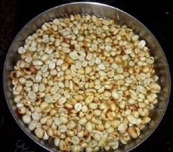 homemade peanut chikki