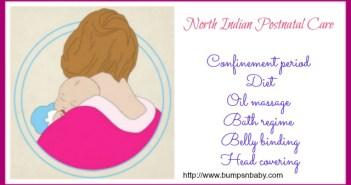 north indian postnatal care