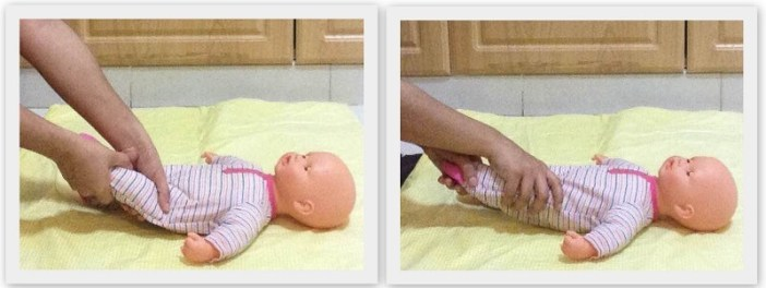 oil massage your baby