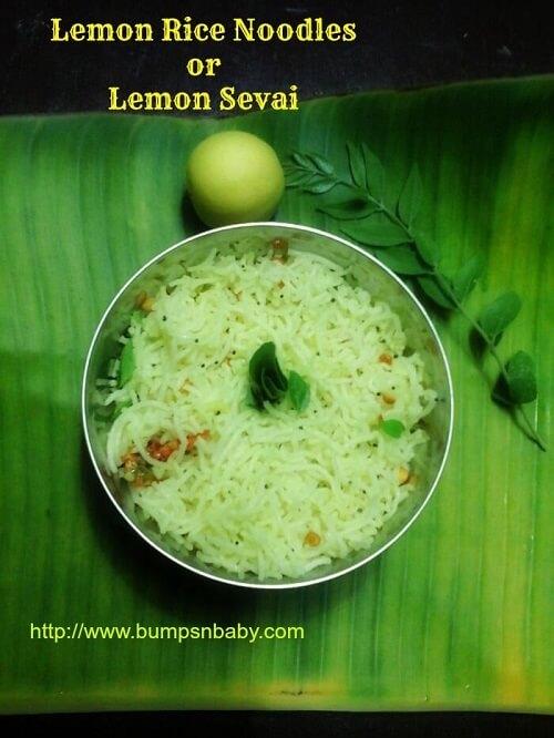 lemon rice noodles