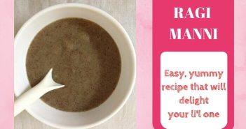 ragi manni recipe for babies