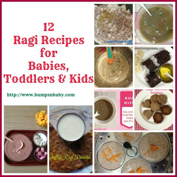 12 ragi recipes for babies toddlers and kids forumfinder Choice Image