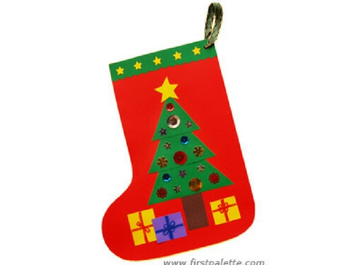 Christmas crafts for kids stockings