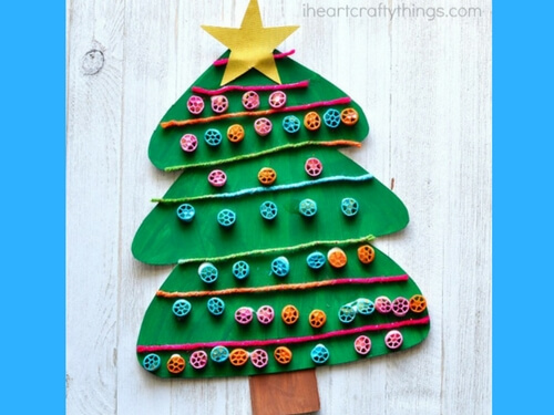 Christmas crafts for kids xmas tree
