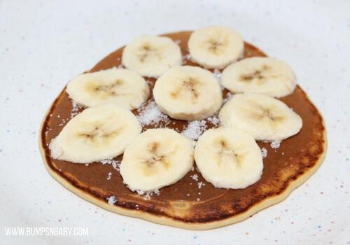 Banana baby food recipes banana pancake
