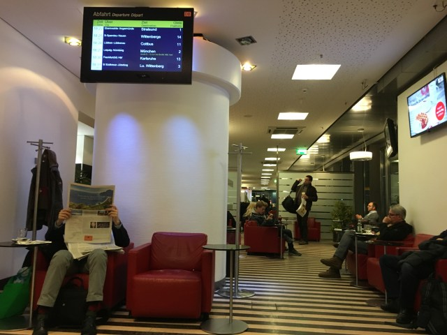 db lounge first class 1. klasse berlin deutsche bahn