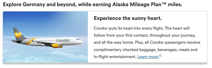 Partnerschaft: Alaska und Condor