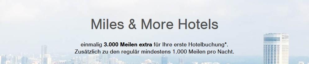 Miles & More Hotel-Portal