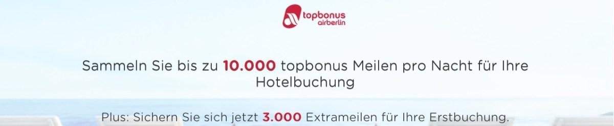 Wir übernachten und sammeln 3.000 Extrameilen | Edition topbonus