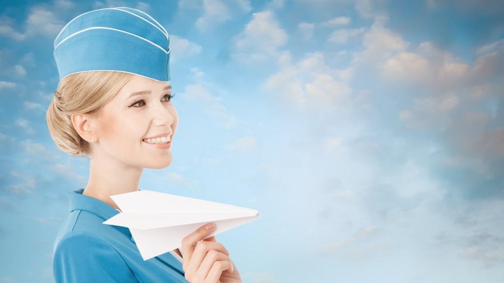 Stewardess uniform chic