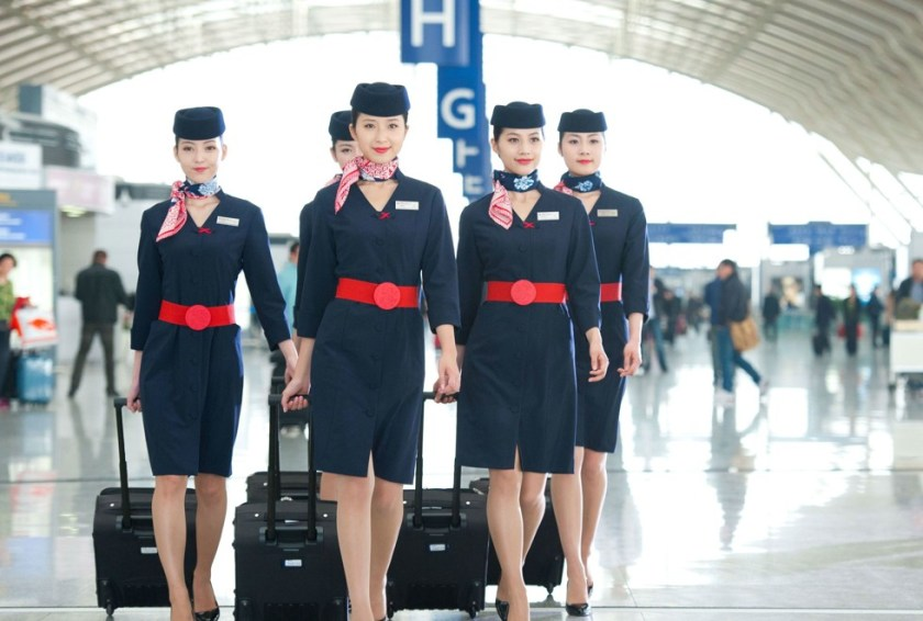 airline uniform china easter