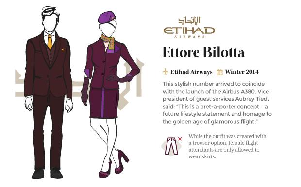 airline uniform etihad airways