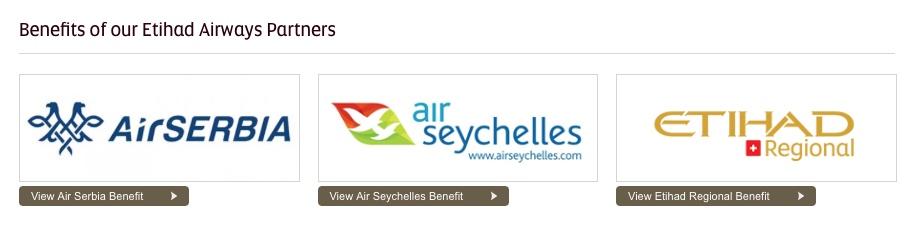 Etihad Airways Partner - ohne Air Berlin airberlin air serbia air seychelles etihad regional eap