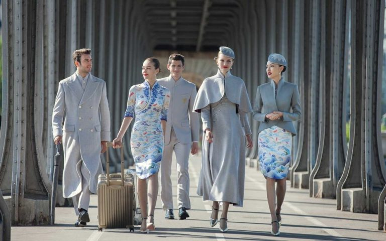 airline uniform hainan airlines