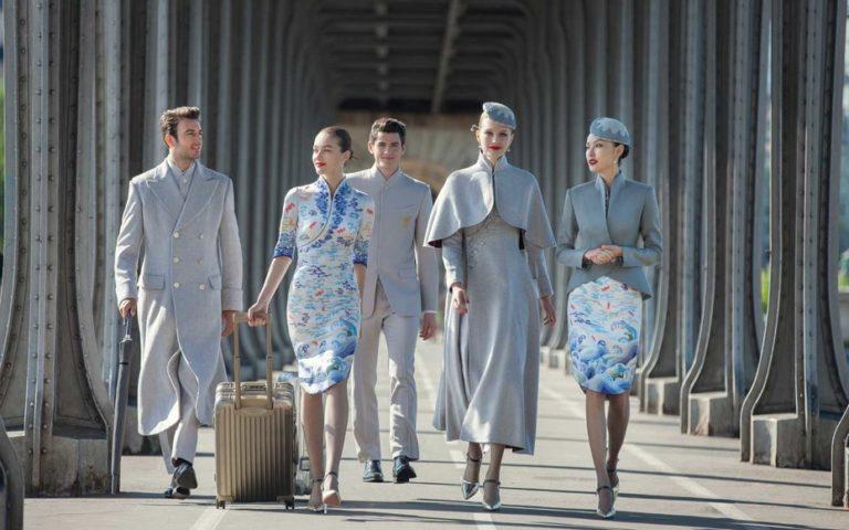 airline uniform hainan airlines
