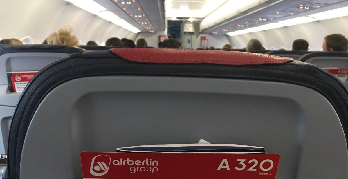 airberlin Economy Berlin – Düsseldorf (AB6453): Bewertung
