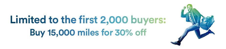 15.000 Alaska Mileage Plan Meilen mit 30% Rabatt