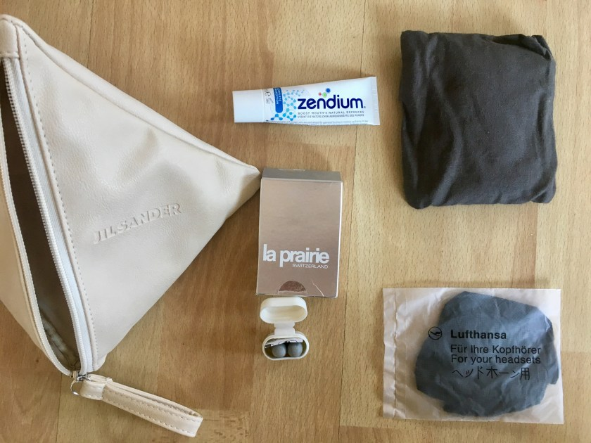 Lufthansa first class Amenity Kit Herren Damen Jil Sander