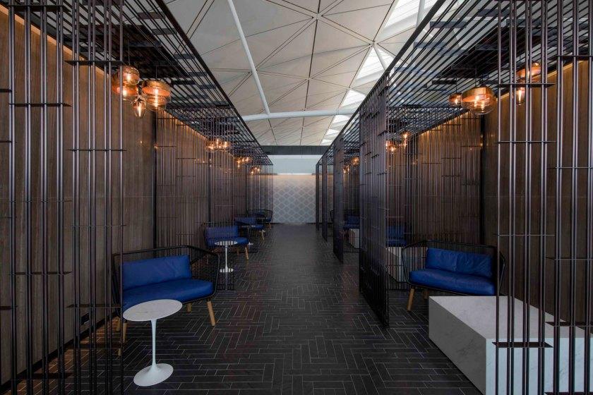american express amex centurion lounge platinum hong kong hongkong hkg airport flughafen